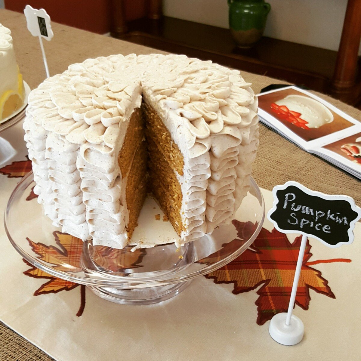 Delicious Moist Pumpkin Spice Cake Recipe From Scratch